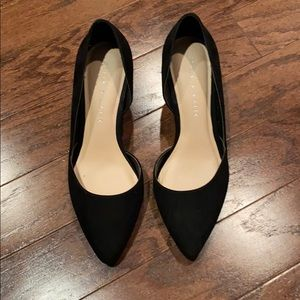 Kelly & Katie black wedge heel